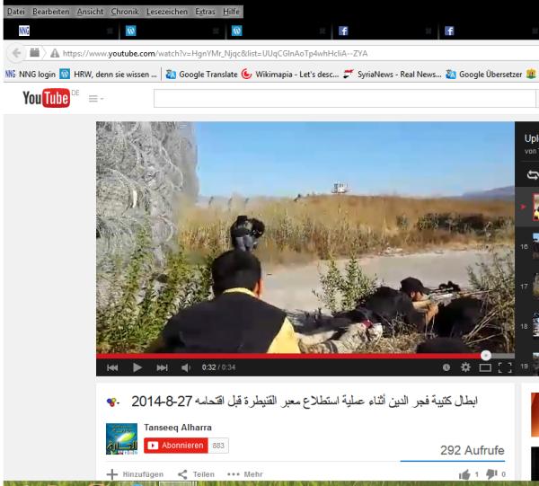 USraels terroristen am Grenzzaun