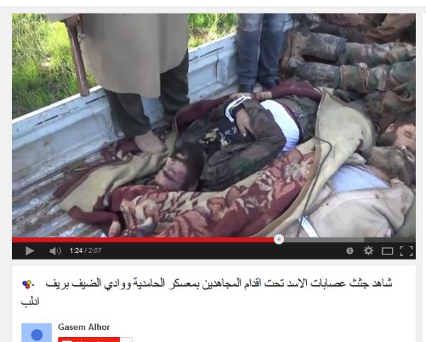 Al-kaidaFSA Leichenräuber