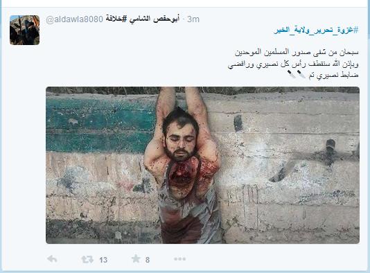 Armer Mensch IS-Teufel