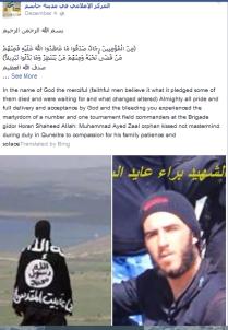 Fahne FSA und Nusra