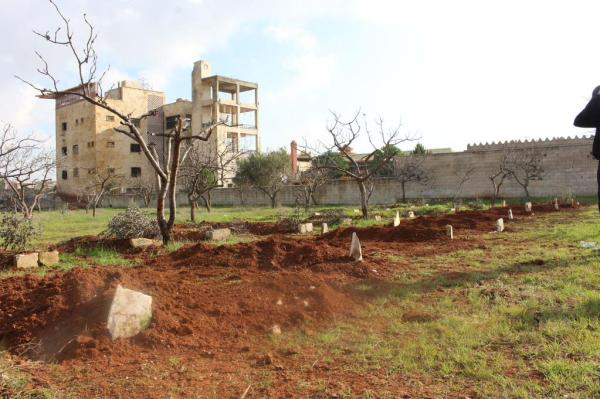 Frische Gräber hadi al Abdallah