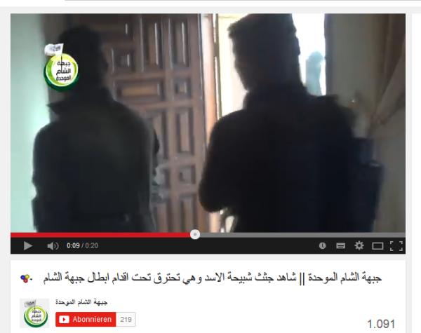 FSA verbrennt Menschen