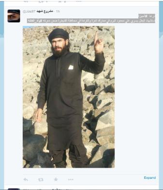 Giza Terrorist weniger
