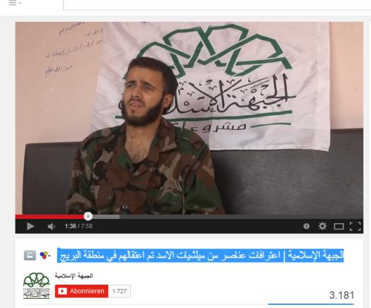 Islamische front-movement