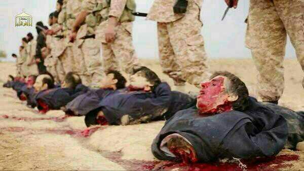 Raqqa geköpft zeigt die TS nicht