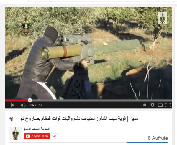 Schwert al sham partner von Nusra
