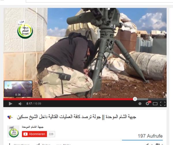 SheikhMiskin Kopfabschneider US-Bewaffnung