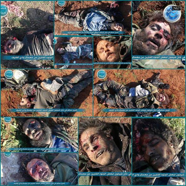 Tote Soldaten von Wadi deif