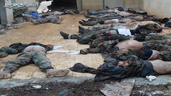 Tote Soldaten Wadi deif