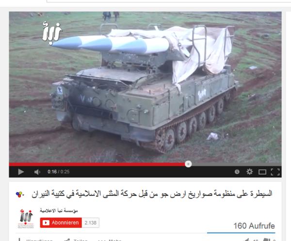 BUK-Raketen Al-Kaida