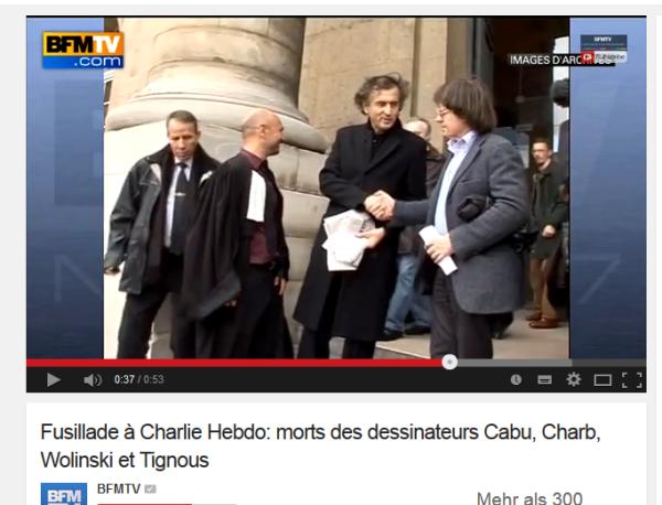 Hebdo Tote-Bericht