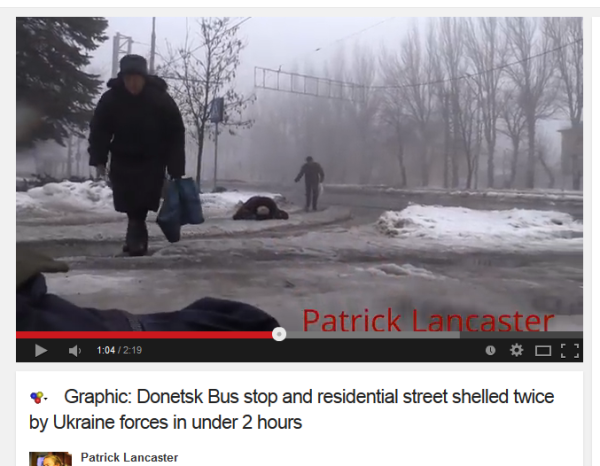 Leichen auf den Straßen