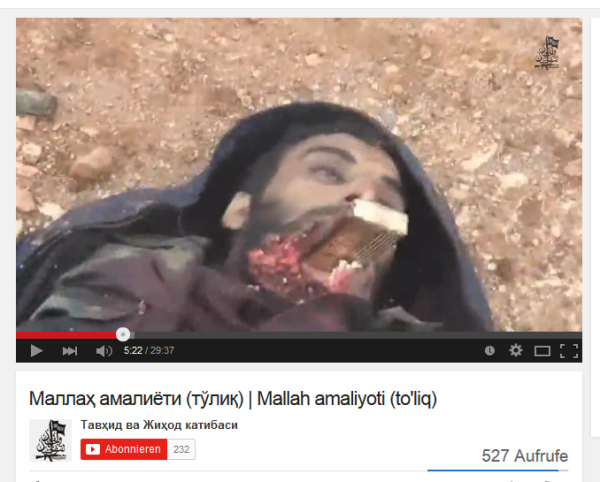 Aleppo 11 Mund zerschossen gegenstand