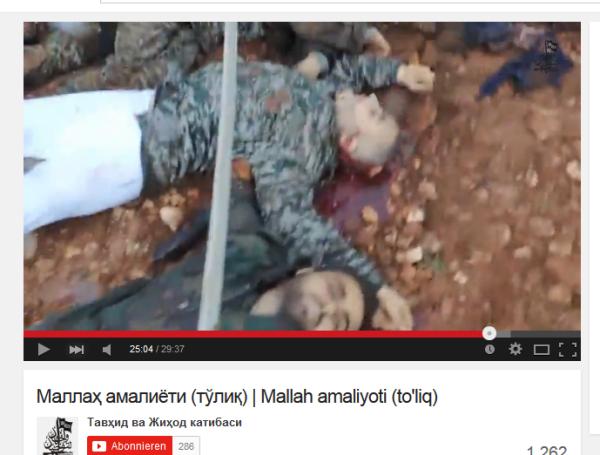 Aleppo 14 ermordet mit Kopfschüssen