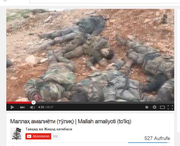 Aleppo 8 Kaum Blut Leichen zerschossen
