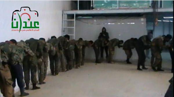 Aleppo Kaida GefangenenTerror