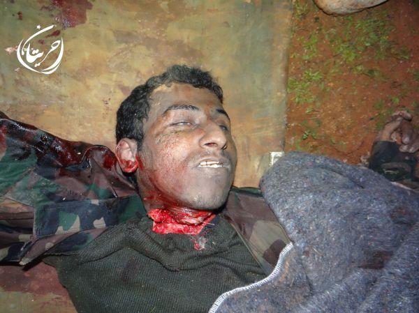 Aleppo Kehle durchschnitten