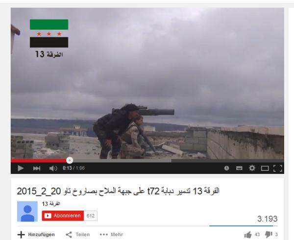 Aleppo mallah TOW