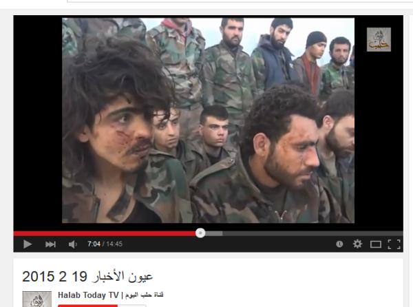 Aleppo Mörderbanden-Propaganda