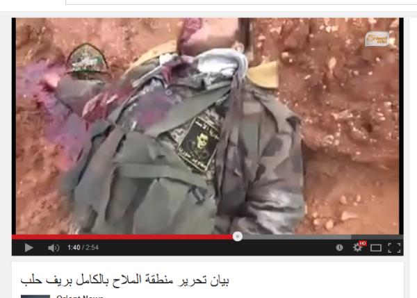 Aleppo Soldat