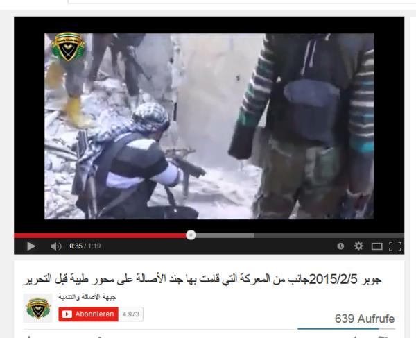 Jobar Kämpfe moschee