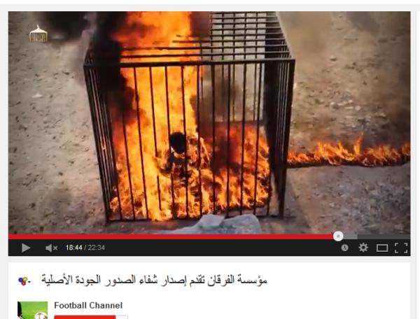Obamas lunte brennt