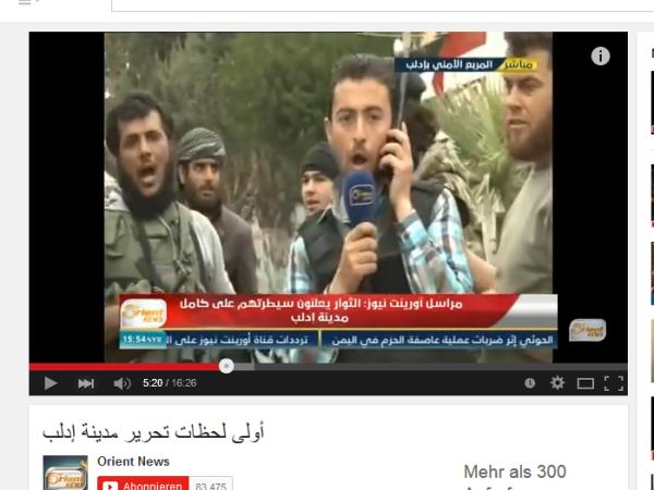 Abu Sakkar und PR Agent