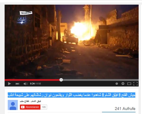 Al-Kaida gegen Idlib
