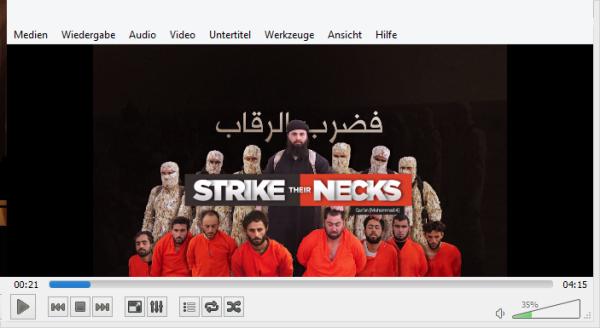 Einleitung IS-Mordvideo