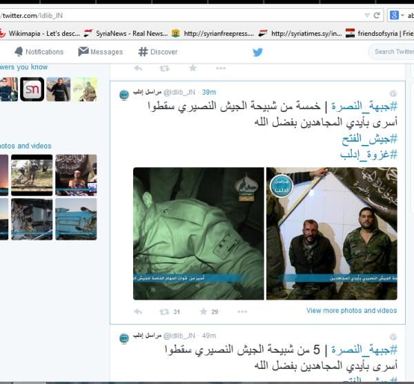 Geiseln JN -Idlib