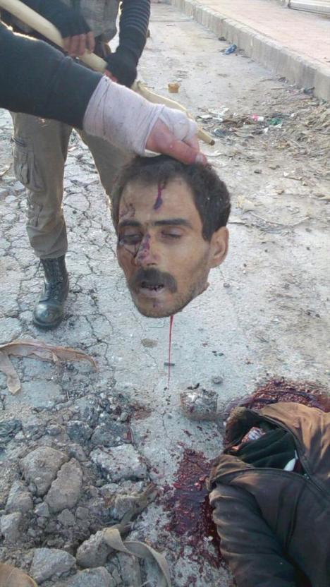 Geköpft Idlib