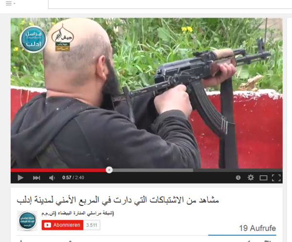 Glatzköpfe Idlib