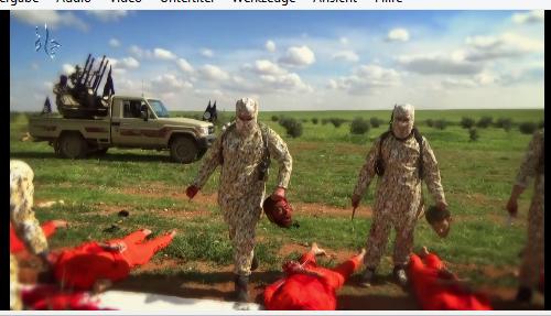 Hama Soldaten geköpft von IS