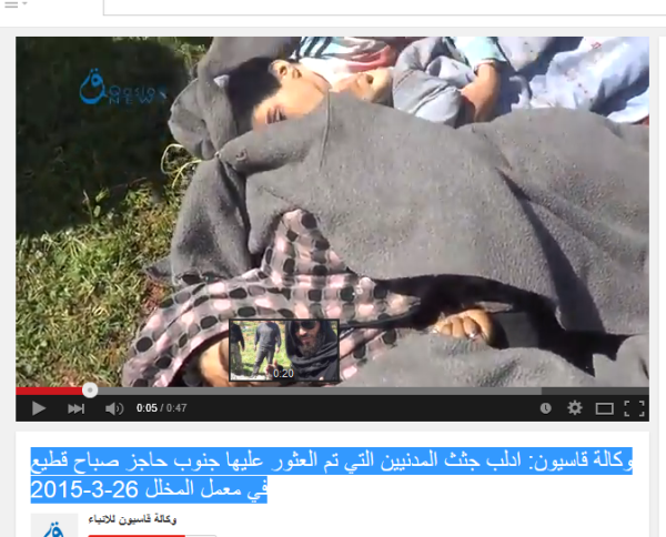 Idlib abgeknallte Zivilisten