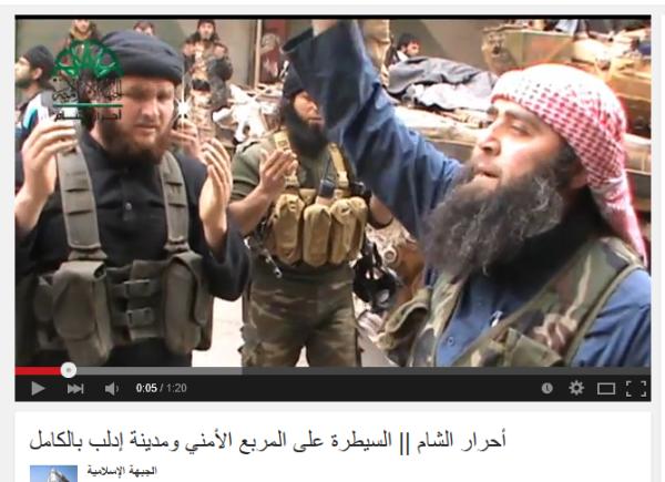 Idlib Battle internationale Terroristen