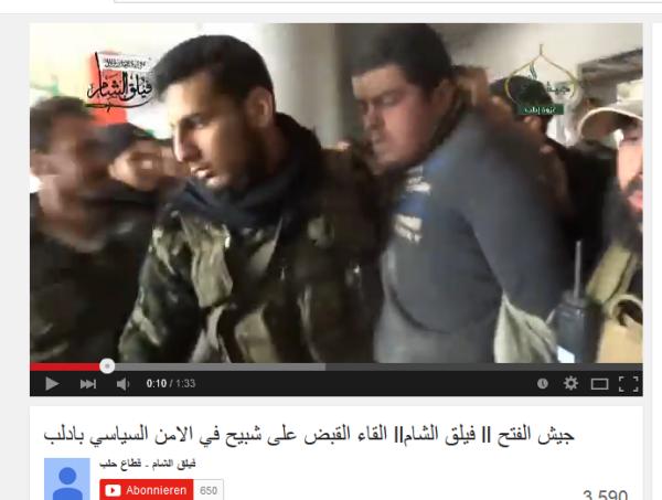 Idlib gefangener Bär