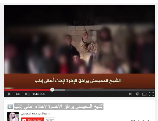 Idlib Saudischer terrorist Geiseln