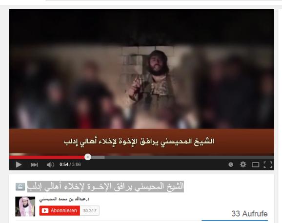 Idlib Saudischer Terrorist Geiseln1