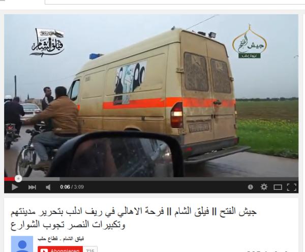 Krankenwagen bei Al-Kaid
