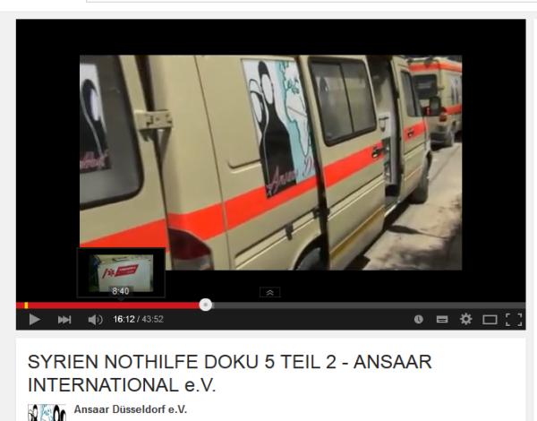 Krankenwagen Qusair Idlib Hama