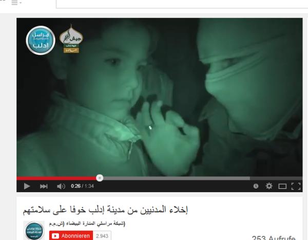 Nusra lädt eine Propagandalawine ab