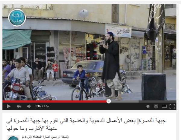 Nusra wie in Daraa Idlib übernommen