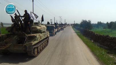 Nusraaufmarsch Golan