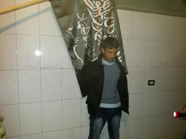 Weitere Geisel, aus Idlib oder halep