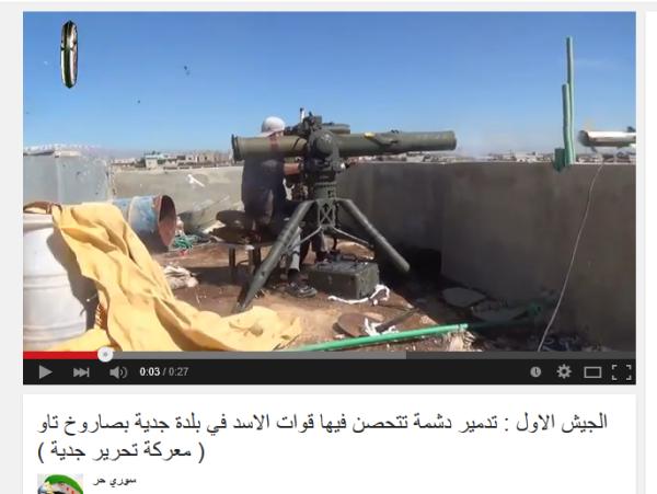 Angriffskrieg TOW Kafr Shams