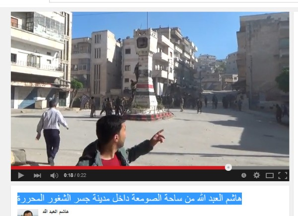 Eingedrungene Terroristen in Jisr
