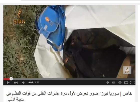 Idlib city kopflos
