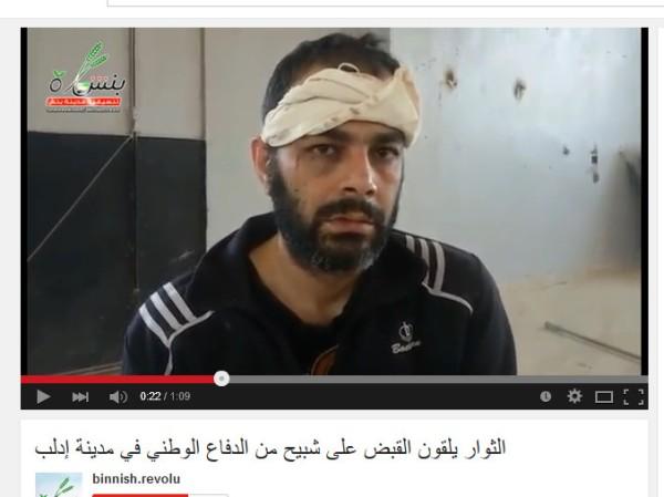 Idlib stadt versteckt