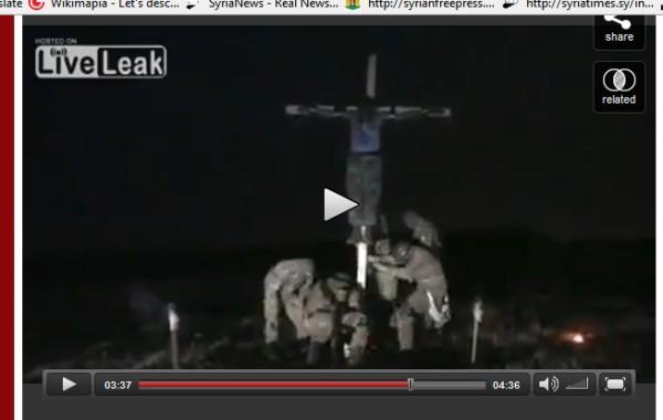 Ukraine Kreuzigung