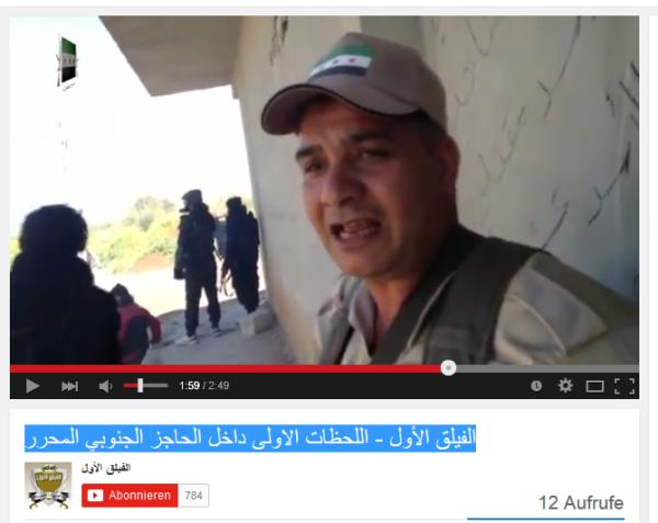 US-Söldner mit AK Daraa